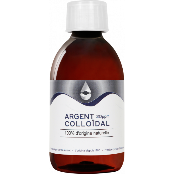mini ARGENT colloïdal 20 ppm 150 mL